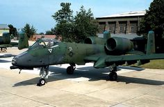 A-10A Thunderbolt II.