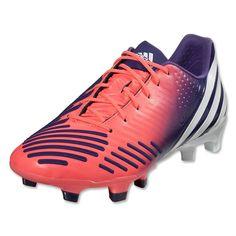 adidas Women s Predator LZ TRX FG (Red Zest Running White Collegiate Purple) 4fc42528f7a12
