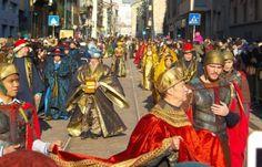 Italia Medievale: Corteo dei Re Magi a Milano