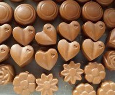 Rezept Nougat Pralinen für Silikon Form von bluemerle - Rezept der Kategorie Backen süß