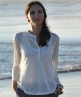 Linen Blouse off-white von Alma & Lovis