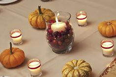 Fall Themed Bridal Shower Decorations