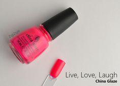 ZigiZtyle: China Glaze Live, Love, Laugh & Nabi Angel Lavender + vähän muutakin