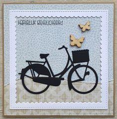 card bike bicycle Marianne design bicycle die LindaCrea
