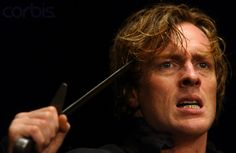 Toby Stephens (as Hamlet) in the Royal Shakespeare Company production of Hamlet at the Royal Shakespeare Theatre