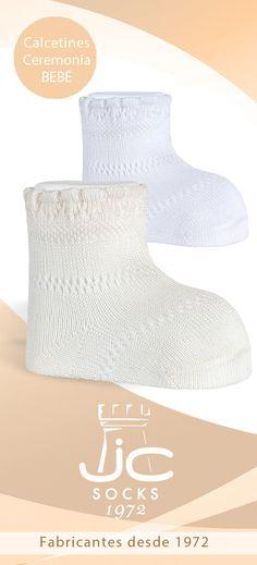 Calcetines hilo perlé para bebé. JC Castellà fabricantes de calcetines desde 1972 Hats, Socks, Bead, Hat, Hipster Hat