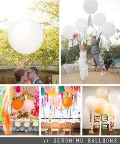 Geronimo Balloons - YEAH! weddings - the blog