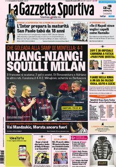 Rassegna stampa Italia: super Niang, squilli Milan! - http://www.maidirecalcio.com/2015/11/29/rassegna-stampa-italia-super-niang-squilli-milan.html