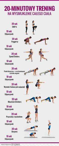 20-minutowy trening na wysmuklenie całego ciała [Infogr… na Stylowi.pl