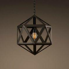 Houzz - Steel Polyhedron