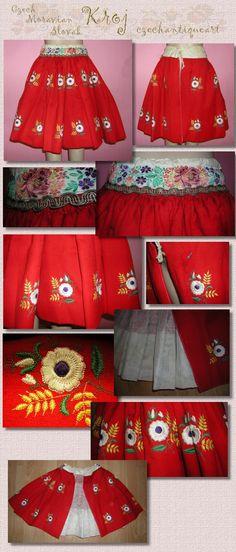 eBay Embroidered Skirt