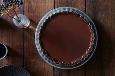 Cinnamon Chocolate Tart with a Pecan Crust Recipe on Food52, a recipe on Food52 #thanksgiving (Thanksgiving Ideas)