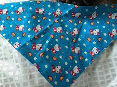 "Hello Kitty dog bandana- fits neck sizes up to 16"""