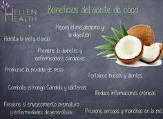 #HellenHealth #sabiasque #datoscuriosos #natural #organico #NutricionHolistica #salud #bienestar #coco #aceite #aceitedecoco #beneficios #saludable #sano