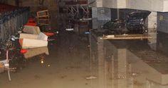 Devriye Haber : Ankara' Keçiören'de  Yağmur Sele Neden Oldu