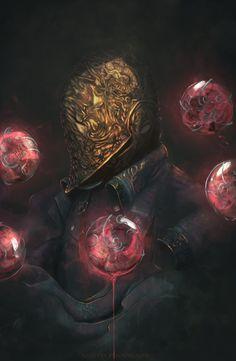 Zenyatta Bloodborne ( overwatch ) by AnatoFinnstark Dark Fantasy, Fantasy World, Fantasy Art, Dark Souls, Old Blood, Dark Blood, Bloodborne Art, Gothic Horror, Soul Art