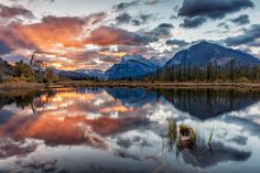 Bow Valley Sunrise | Discovered from Dream Afar New Tab