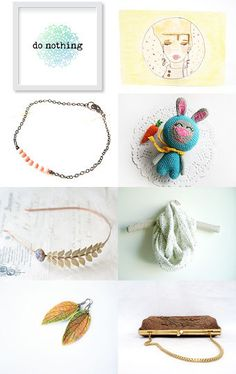 enjoy a do nothing weekend! by MadameLevasseur on Etsy--Pinned with TreasuryPin.com