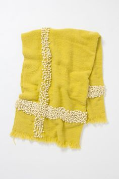 Yellow and mini Pom poms- perfect.