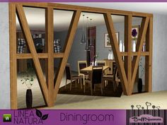 BuffSumm's LINEA NATURA Diningroom Sims New, The Sims 4 Pc, Sims Four, My Sims, Sims 4 Game Mods, Sims 4 Mods, Sims 4 Cc Furniture, Resource Furniture, Living Room Sims 4