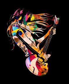 Guitar Hero by Hervé Perdriel
