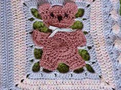 Croche pro Bebe: Mantas de coelhinho/ursinho