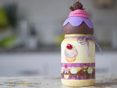 Arte Brasil   Decoupage e Biscuit em Vidro - Angela Rocha