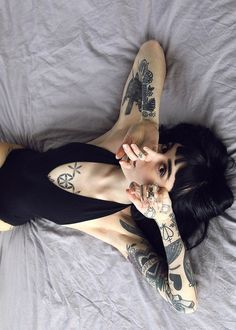 thedropdeadgirls:  Hannah Snowdon for Jade Carney