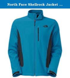 North Face Shellrock Jacket Mens Style : Caj5. The North Face Men's Shellrock Jacket is a lightweight Softshell for mild weather resistance during the hike. The Shellrock is made with TNF Apex Universal fabric, a polyester/elastane blend that is wind permeable at 5-10 CFM (0 CFM is 100% windproof). This allows you to hike hard and fast without overheating, as a little air is allowed to pass through. The elastane makes it stretchy, so you can move your arms easily, climb a tree, do…
