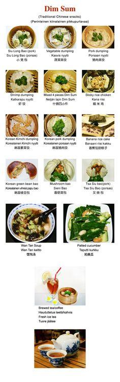 Natural Flavour Tea House Helsinki, great real chinese restaurant, dim sums and service attitude - oikea kiinalainen ravintola