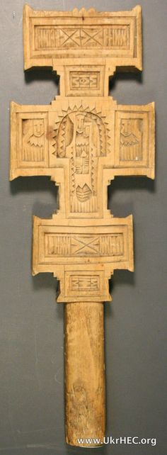 Ukrainian Historical and Educational Center Virtual Galleries | Wood hand cross