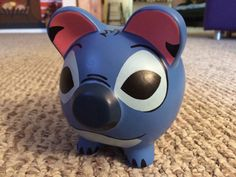 READY TO SHIP Lilo & Stitch Hand Painted Stitch by KaleyCrafts