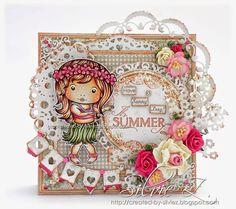 Created-By-Silvie-Z.: La-La Land Crafts - NAUTICAL MARCI and HULA MARCI ♥♥