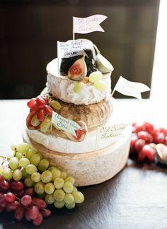 Cheese Wedding Cake | Bridal Musings