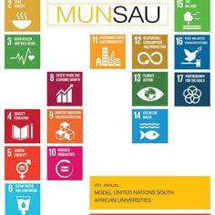 The United Nations in association with South Africa (UNASA) has successfully hosted this year's MUNSAU (Model United Nations: South African Universities) event earlier this month. Sustainable Development, Sustainability, Innovation, Students, African, Events, Goals, Education, News
