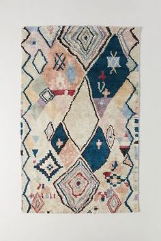 Moroccan Style Rug, Moroccan Art, Hanging Furniture, Office Furniture, Natural Fiber Rugs, Rifle Paper Co, Soft Furnishings, Rugs On Carpet, Vivid Colors