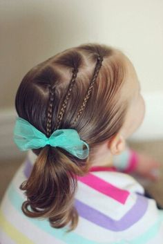 Cute little girl hair style