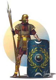 Auxiliary, Cohors I Batavorum, second half of the I century AD