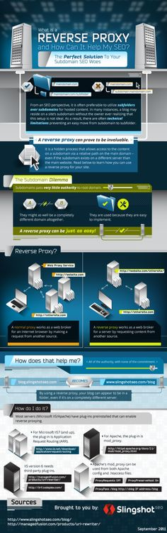 The subdomain dilemma...What is a Reverse Proxy and How Can It Help My SEO? Infographic