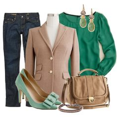 Office, created by wwwstylecliquescom on Polyvore
