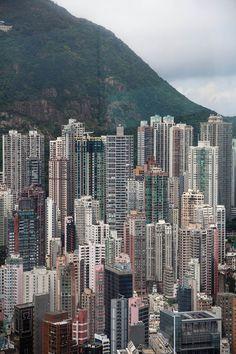 Buildings of Hong Kong.