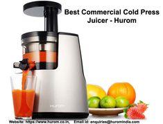 40 Best Hurom India images | Cold press juicer, Hurom juicer