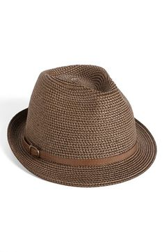 Nordstrom 'Stone Washed' Fedora available at #Nordstrom