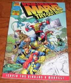 APRENDE A DIBUJAR COMIC CON MARVEL TRY-OUT BOOK - Forum - 1999