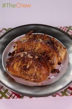 Baked French Toast with Maple Syrup by Paula Deen - Start your holiday morning off the right way with this sweet treat! #TheChew