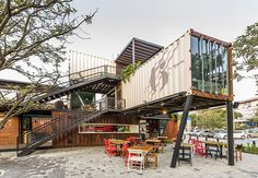 Contenedores Food Place by Masif, via Behance
