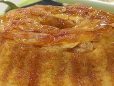 Torta invertida de manzana en microondas | Recetas | Utilisima.com
