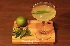 Cocktail Recipe: The Southside Cocktail