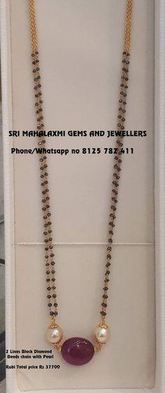 Diy jewelry tree gold new Ideas Diy Jewelry Necklace, Jewelry Tree, Bead Jewellery, Beaded Jewelry, Gold Jewelry, Necklace Chain, Ruby Jewelry, Gold Necklace, Indian Wedding Jewelry