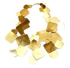 Hervé Van der Straeten – Square details necklace …